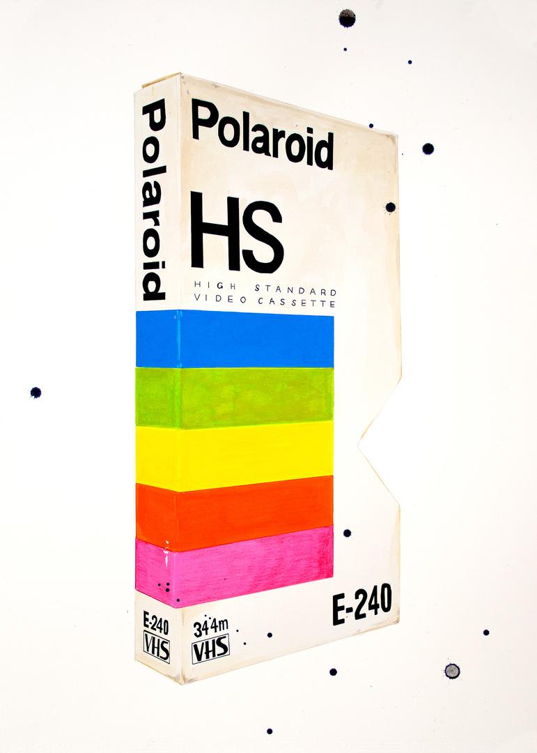 Vhs polaroid